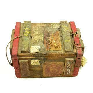 British Revolver Ammo Box