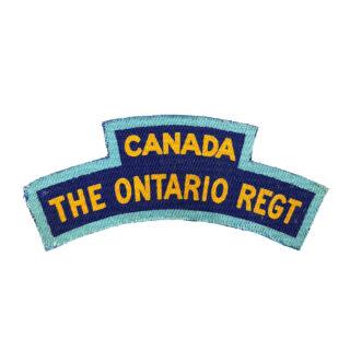 The Ontario Regiment
