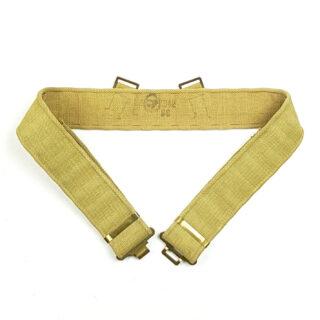 Canadian P37 Web Belt 1942
