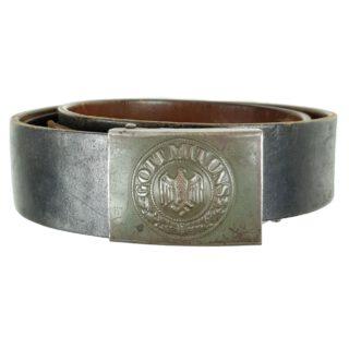 WH Belt & Buckle