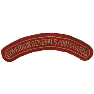 Governor General's Foot Guards