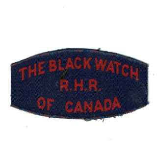 Black Watch Of Canada