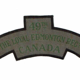 49th Loyal Edmonton Regt