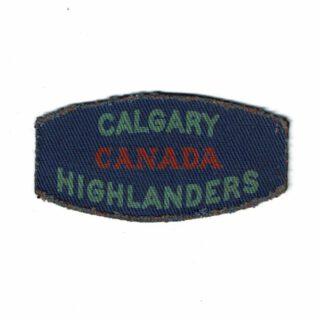 Calg. Highlanders Flash