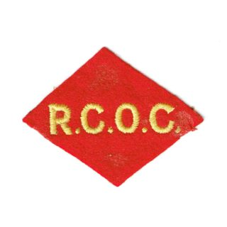 RCOC – 1st Canadian Corps