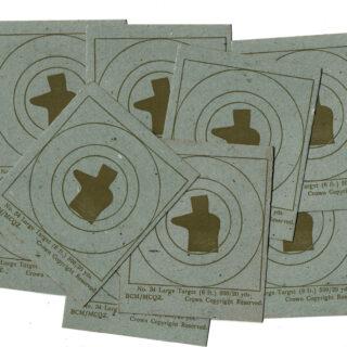 WW2 Canadian Cardboard Targets