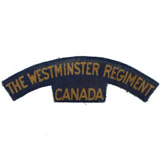 The Westminster Regiment