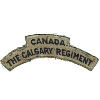 The Calgary Regiment