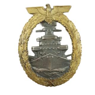 Kriegsmarine Flotten-Kriegsabzeichen (High Sea Fleet Badge).