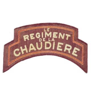 Regt De La Chaudiere