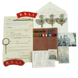 WW2 British Grouping KSLI