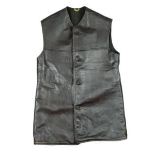 Canadian Leather Jerkin 1943