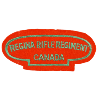 Regina Rifle Regt – Shoulder Title