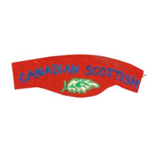 Canadian Scottish Regiment – Cloth Shoulder Flash