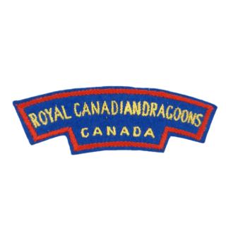 Royal Canadian Dragoons – Cloth Shoulder Flash