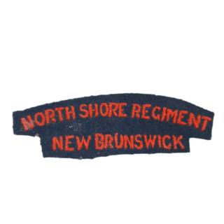 North Shore Regiment – Cloth Shoulder Flash