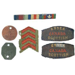 Essex Scottish Grouping – B.E. Dillman