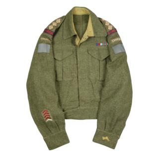 3rd Anti Tank RCA – Battle Dress