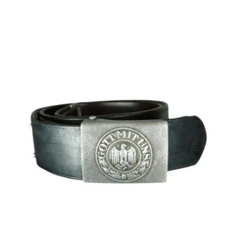 Heer Belt Buckle 'R. Sieper & Sohne 1938' And Belt