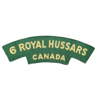 6th Royal Hussars Of Canada