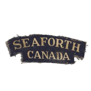 Seaforth Highlanders Of Canada – Printed Shoulder Flash