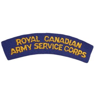 Royal Canadian Army Service Corps (RCASC)