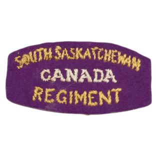 South Sakatchewan Regiment
