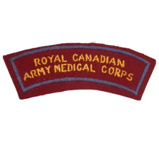 Royal Canadian Army Medical Corps (RCAMC)