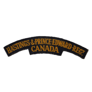 Hastings & Prince Edward Regiment