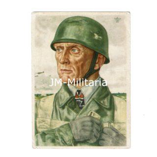 WW2 German Postcard Fallschirmjäger