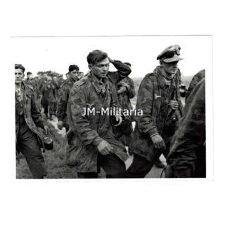 WW2 US Press Photo – POW Felddivision