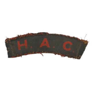 Honourable Artillery Company (HAC)