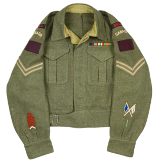8th Field Regiment- RCA – Battledress