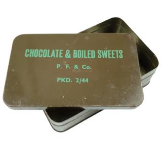 Chocolade & Boiled Sweet Tin