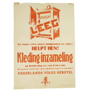 Nederlands Volks Herstel Poster