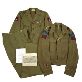 Calgary Regiment Grouping – Captain A.J. Miller