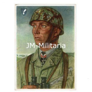 WW2 German Fallschirmjäger Postcard